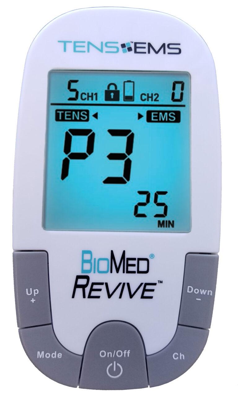 BioMed Revived TENS EMS digitaler 2-Kanal Gerät